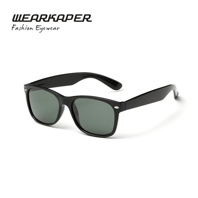 WEARKAPER Marca Óculos de Sol Da Moda Revestimento Das Mulheres Dos Homens Polarizados óculos de Sol Clássicos Masculinos Espelho Óculos de sol gafas de sol