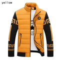 Hot Winter Jacket Men New Spring Men's Cotton Blend Mens Jacket And Coats Casual Thick Outwear For Men Plus Clothing Male 3XL