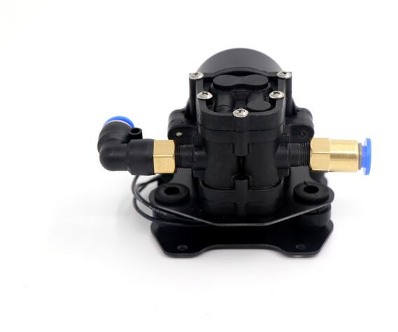 Mini water pump spray pesticide micro pressure return type diaphragm brushless water pump for Agricultural plant protection UAV popular sale 30w small diaphragm return valve type 12v high pressure water pump