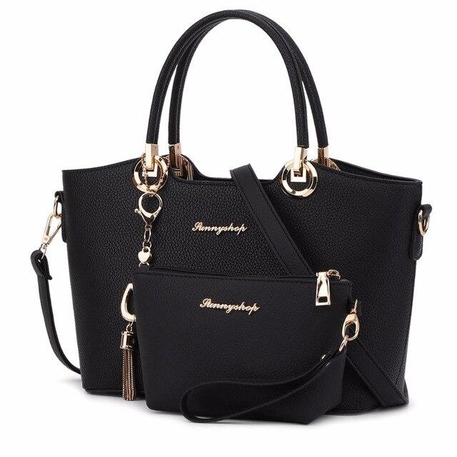 Gur283 2017 New Luxury Leather Bags Handbags Women Famous Brands Bag Designer Tote Shoulder