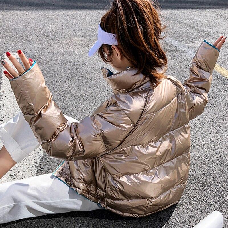 Lâche face Red Le Blanc D'hiver Duvet Manteau rose Usure Nouvelle Pain Survêtement Bas Canard Arrivée Blue Vers Double 2019 Vêtements Femmes Veste De 90 wqXgW4zH4