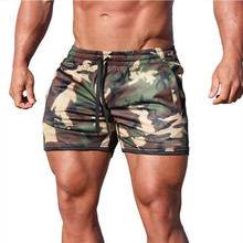 New Summer Mens Shorts Gyms Fitness Bodybuilding Casual Joggers Workout Brand Sporting Short Pants Sportswear Sweatpants