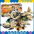 569 шт. Бела 10377 Звездных Войн Вуки Вертолета Модель Строительные Блоки Устанавливает Wullffwarro Кенан Кирпичи Совместимы С Lego