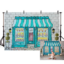 Newborn Baby Shower Photographic Photo Background Birthday Summer Floral Backdrop Photographer Flower Candy Castle Decorations