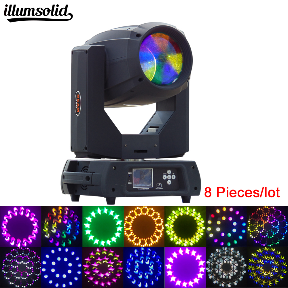 8pcs/lot  hot sell professional stage party disco KTV bat lighting item 350W 17R Moving head Beam+Spot wash light8pcs/lot  hot sell professional stage party disco KTV bat lighting item 350W 17R Moving head Beam+Spot wash light