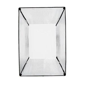 """Image 4 - Godox softbox 60*90cm 24 """"x 35"""" Portatile Rettangolare Studio Strobe Softbox con Bowens Mount per flash da Studio"""