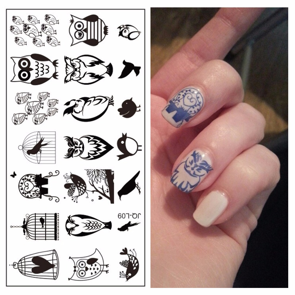 nail art beauty personal diy owl