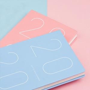 Image 3 - Agenda 2019 2020 Pianificatore Organizzatore A5 Diario di Notebook e Riviste Mensili Settimanale Nota Libro Pad Ufficio Programma di Viaggio A Mano libri