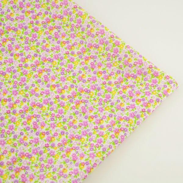 Flores de Colores Diseños Patchwork Textiles para El Hogar Artesanía Decoración