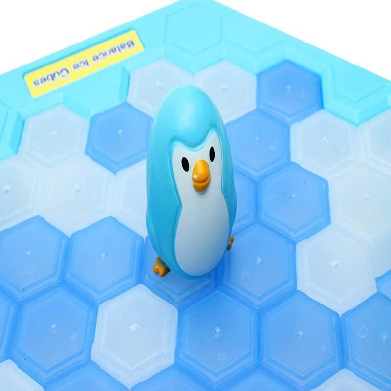 FUNTOK спасти пингвина льда детская игра-Паззл сломать лед квадратный Молот ловушка вечерние игрушка ледокол