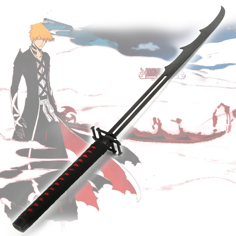 Game cosplay cartoon anime sword battle ready top fashion direct selling anime props bleach home decor katana samurai sword in swords from home garden on