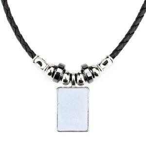 Image 5 - Colliers vierges en sublimation pour femmes, transfert à chaud, impressions personnalisées, bijoux personnalisés, consommables, 10 pièces/lot, nouveauté