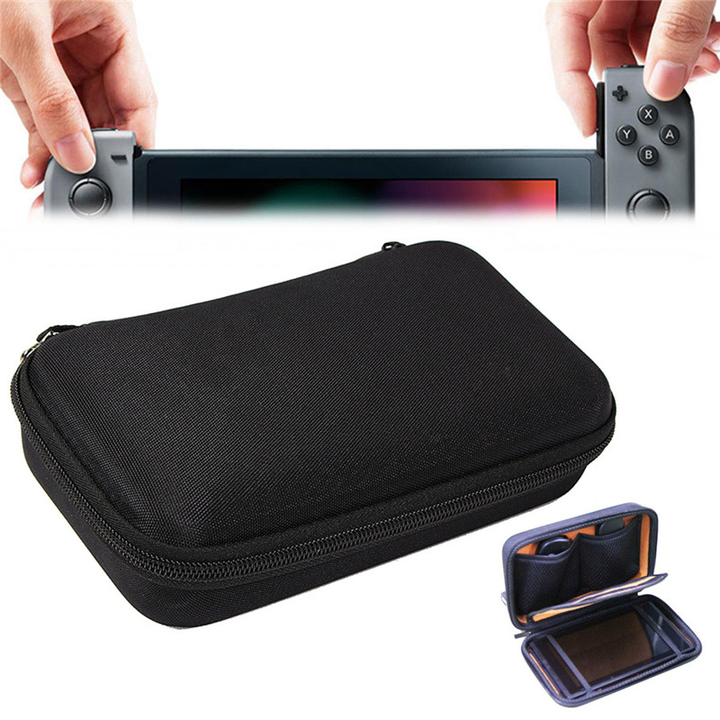 EVA Hard Travel Portable Storage Bag Carrying Case Cover Protective Storage Shell Pouch With Handstrap For Nintend Switch