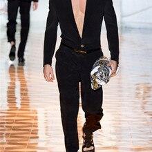 Европейский и американский дизайн универсального стиля комбинезон M-6XL! Высококачественные мужские брюки