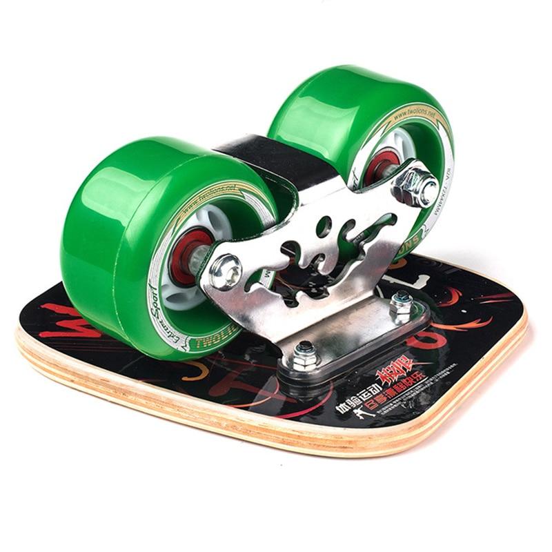 Twolions Drift Board For Freeline Canadian Maple Graffiti Roller RoadDrift Skates Antislip Skateboard Deck Freeline Wakeboard