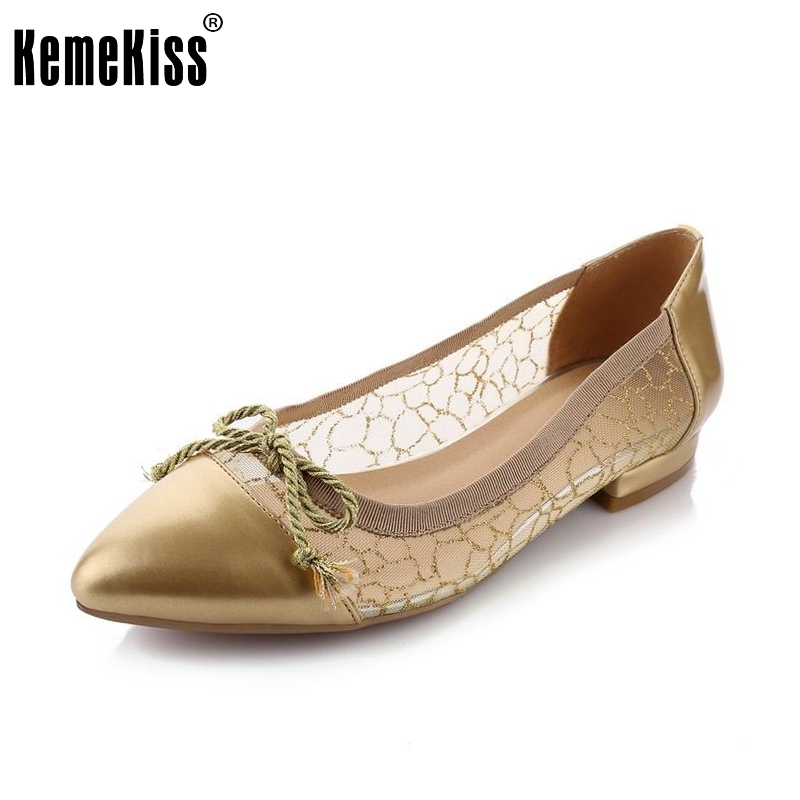 women real genuine leather party casual flats leisure shoes woman bowknot sexy fashion brand ladies shoes size 33-43 R7064 size 33 43 r08323 ladies pointed toe real genuine leather flat shoes women bowknot sexy spring fashion footwear brand shoes