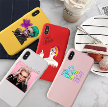 Jeffree Star Can't Relate Colored soft silicone Case For iPhone X 7 Plus Case TPU Phone Cover For iPhone 6S 8 6 Plus XS Max Case(China)