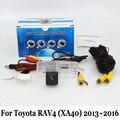 Câmera de Visão traseira Para Toyota RAV4 RAV 4 RAV-4 2013 ~ 2016 (sem Roda Sobressalente Na Porta)/com fio Ou Sem Fio HD CCD Da Câmera de Visão Noturna