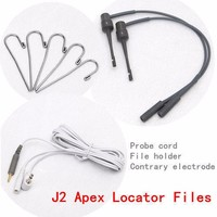 Dental Material Endo Apex Locator Root Canal Finder Testing Cord Files Fit J2