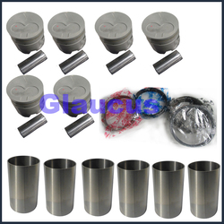 1hz motor zuigerveer pin liner voor Toyota Landcruiser Landcruiser Coaster 4164cc 4.2L 4.2 d td 1990- 13101-17010 13011-17010