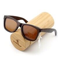 BOBO BIRD 100% Handmade Wooden Sunglasses Men Design Gafas De Sol Steampunk Cool Sun Glasses