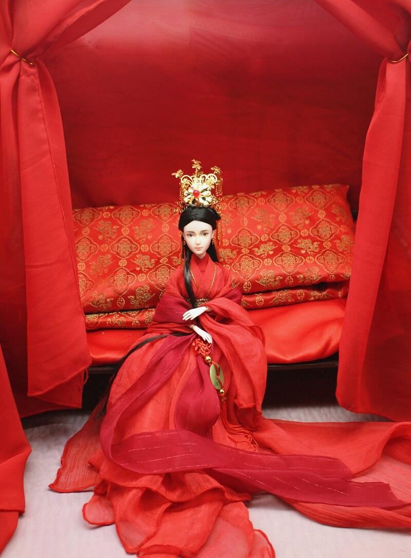 고대 중국 웨딩 인형 신부와 남편 의상 인형-에서인형부터 완구 & 취미 의  그룹 2
