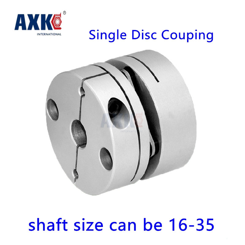 Axk New Cnc Dia. 68mm Single Disk Coupling Shaft Size 16mm, 17, 18, 19mm, 20mm, 22mm, 24mm, 25mm, 26mm, 28mm, 30mm Disc Coupler 42pcs 1 25mm dia radial bristle disc