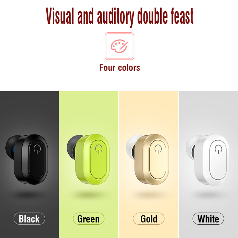 Invisible Earphone Mini Bluetooth Headset Sport Headphone Universal for Xiaomi iPhone Samsung Wireless Business Earphone Earbuds high quality 2016 universal wireless bluetooth headset handsfree earphone for iphone samsung jun22