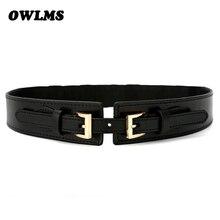 NEW Waist Belts wide cummerbunds Cloth Elastic red