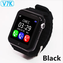 Original V7K GPS Bluetooth Smart Watch for Kids Boy Girl Apple Android Phone Support SIM /TF Dial Call and Push Message(China)