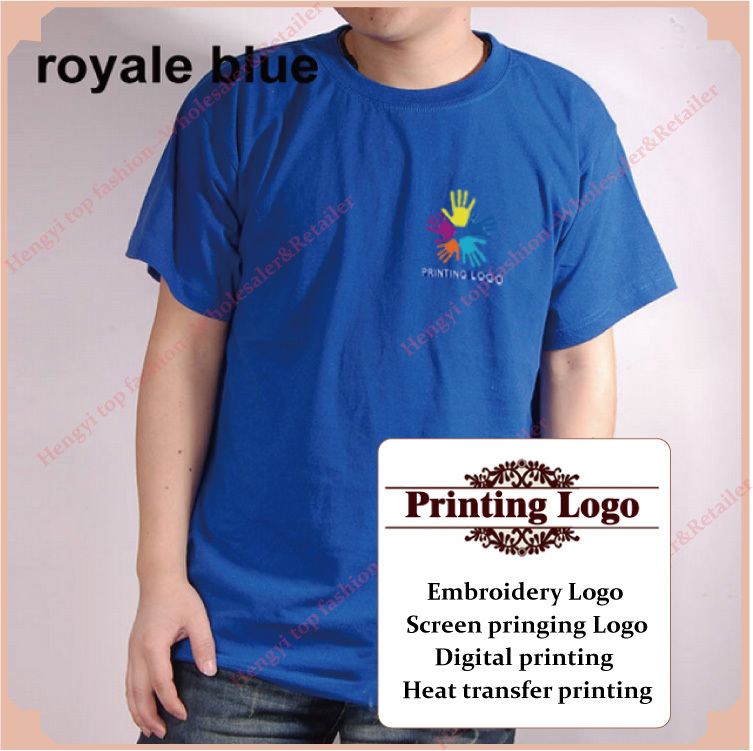 a014ad093 Custom printing t shirt print service China heat transfer Digital printing  embroidery logo on Blank tees XXXL 4XL black HY02-in T-Shirts from Men's  Clothing ...