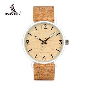Image 2 - Bobo Vogel L E18 Roestvrij Staal Horloges Mannen Quartz Horloge Custom Logo Merk Designer Dames Orologio Da Polso Oem