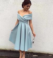 Простые Выпускные платья с v образным вырезом плиссированные