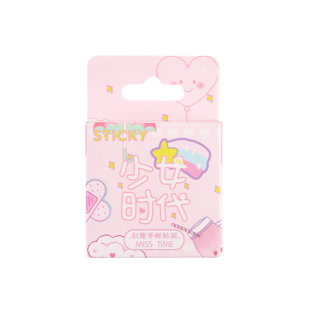 Mohamm Girl Generation Series Cute Boxed Kawaii Stickers Planner Scrapbooking Stationery Japanese Diary Stickers 4