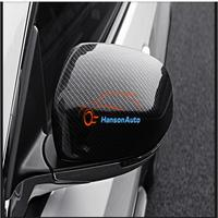 Accessories for jeep compass 2017 abs Chrome Rearview Mirror Covers Carbon Fiber Door Mirror Cover Car Styling Car Stickers 2pcs