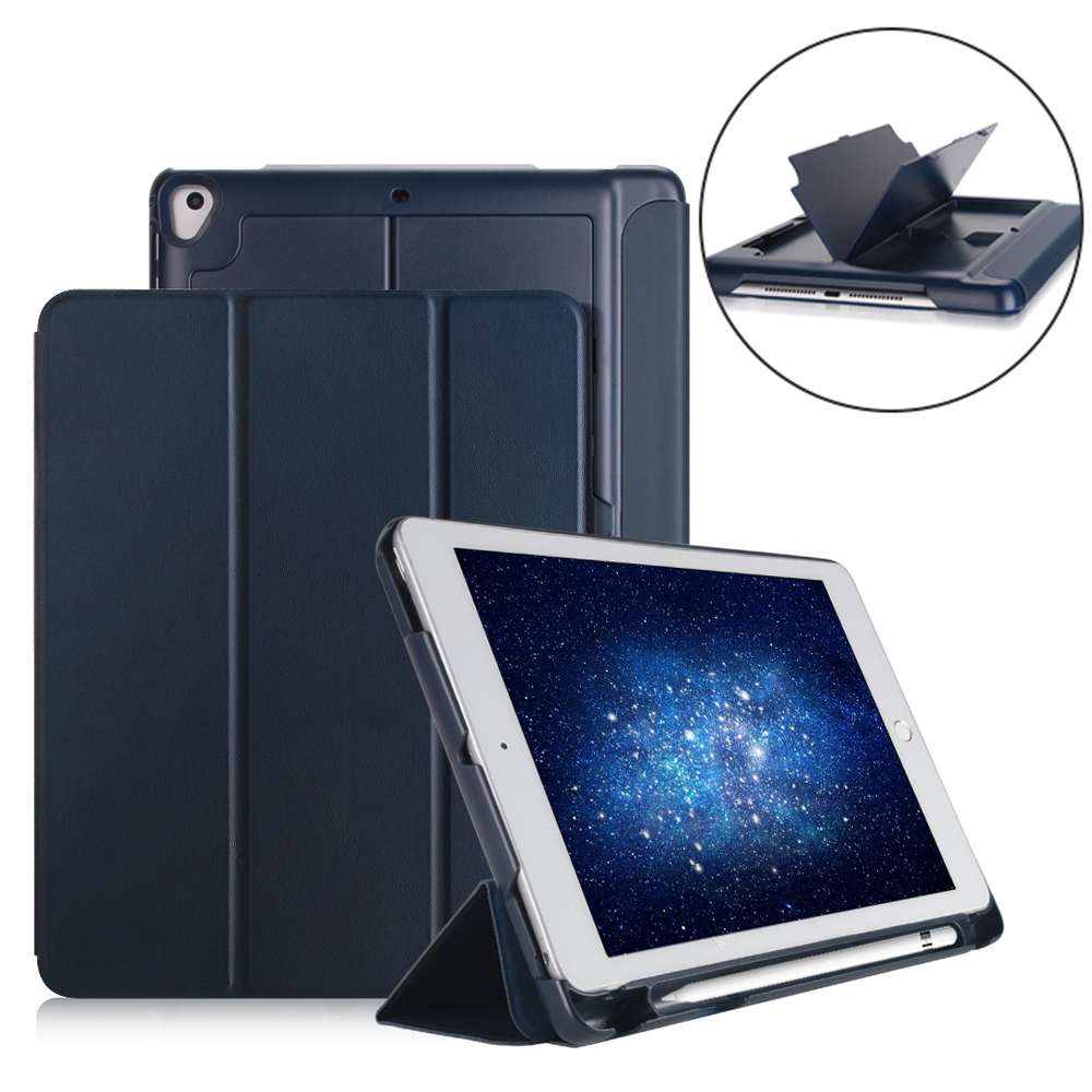 Case with Pencil Holder For iPad Air 1 Air 2 Pro 9.7 Universal , PU Leather Smart Stand Cover For ipad 5 6 Auto Sleep Wake for apple ipad pro 10 5 case 2017 new pu leather slim smart cover w pencil holder wake sleep function for ipad pro 10 5 case