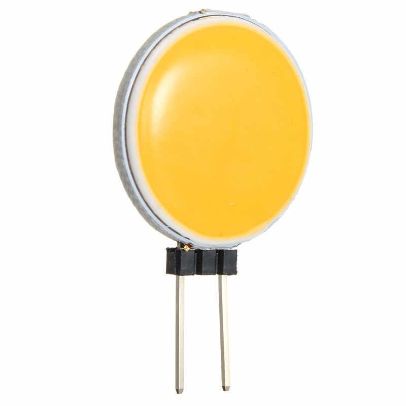 Qualidade superior g4 cob 4 w 5 7 12 puro branco quente led 15 18 30 63 chips substituir lâmpada de halogéneo luz do ponto lâmpada