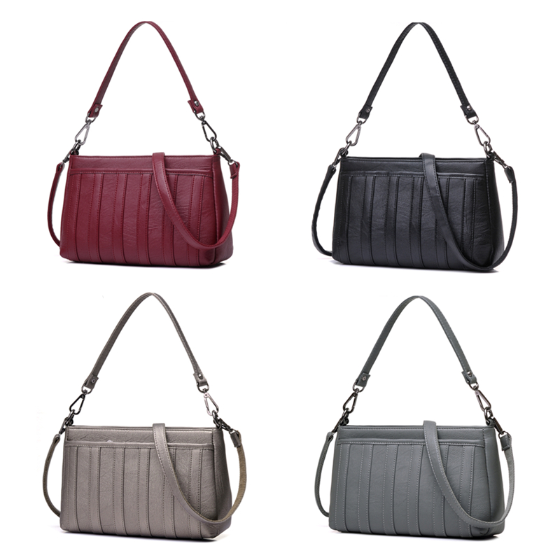Heat Mother package Women crossbody bags for women bag over For mom shoulder bag High Leather Quality Messenger Bags tote Bolsas in Shoulder Bags from Luggage Bags