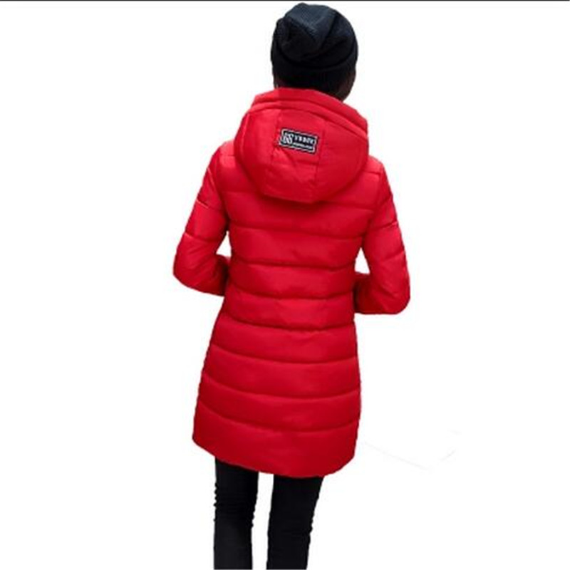 2016Winter Jacket Slim Eiderdown Cotton Jacket Women Winter Coat Warm Outwear Padded cotton Jacket Coat Womens High QualityG1875