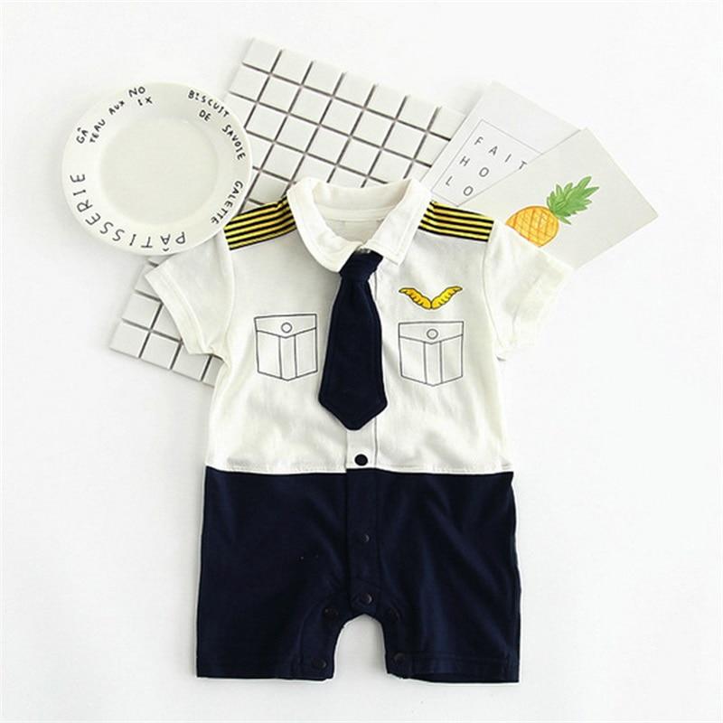 TONGMAO Brand Newborn Baby Boy Pajacyki dziecięce Gentleman ubrania - Odzież dla niemowląt - Zdjęcie 2
