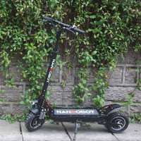NANROBOT D4+ Upgraded Adult Electric Scooter 10 52V23.4Ah 2400W Motor Powerful 45 Miles and 40 MPH 2 Wheel kick e Scooters