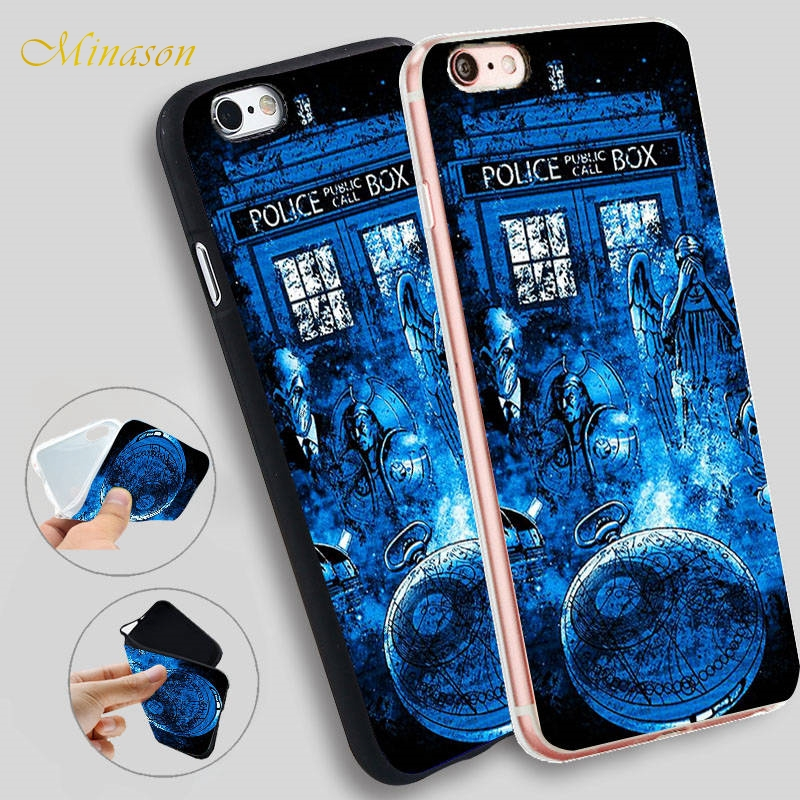 Half-wrapped Case Buy Cheap Yinuoda Tardis Box Doctor Who Tpu Soft Rubber Phone Cover For Iphone X Xs Max 6 6s 7 7plus 8 8plus 5 5s Xr 10 Case Cellphones & Telecommunications