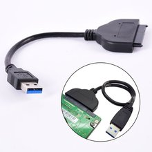 Hot Selling USB 3.0 To SATA 22 Pin 2.5 Inch Hard Disk Driver SSD Adapter Cable Newest
