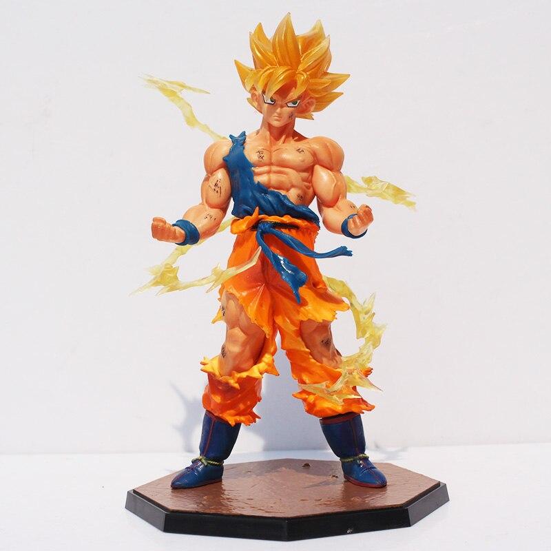 "Buy 6.8"" Dragon Ball Z Super Saiyan Goku Son Gokou PVC Action Figure Model Collection Toy Gift for only 16.34 USD"