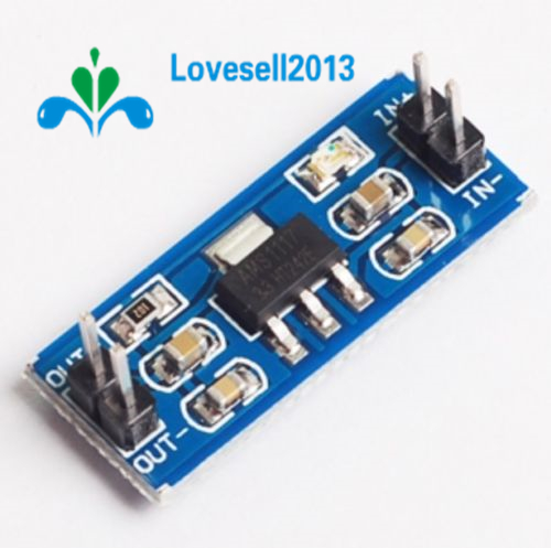 5PCS New 4.5V-7V To 3.3V AMS1117-3.3V Power Supply Module AMS1117-3.3