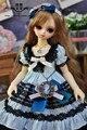Dd BJD SD детское платье установить куклы юбка Accessaries 1/3, 1/4 гигантский кукла ткань комплект