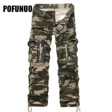 2017 m. Naujos vyriškos kelnės kariuomenė žali dideli kišeniai apdaila vyrai atsitiktiniai kamufliažo kelnės lengva valyti vyrų karinės kombinezonas 40