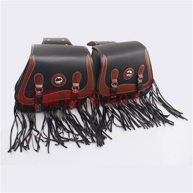 New Motorcycle PU Leather Tool Bags Luggage Motorcycle Saddle bags Motorbike Sportster Cruiser Side Storage Pouche for HarleyNew Motorcycle PU Leather Tool Bags Luggage Motorcycle Saddle bags Motorbike Sportster Cruiser Side Storage Pouche for Harley