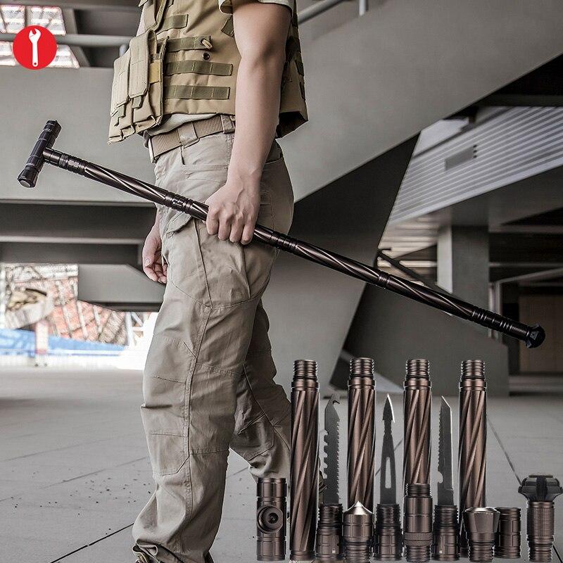 Скалолазание, инструмент для пешего туризма, для дома, автомобиля, самозащитные палочки, DIY оборудование для кемпинга, инструменты для авари