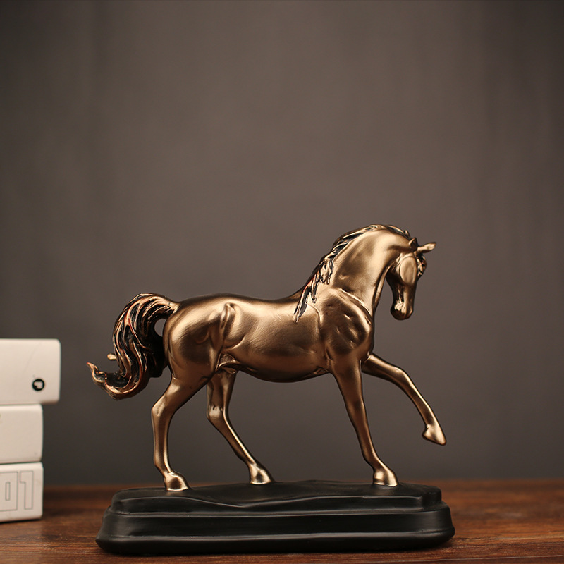 Horse Crafts Resin Creative Fashion Home Decoration Ornaments